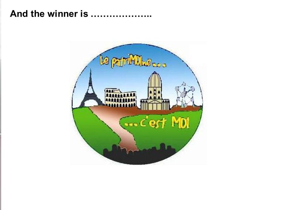 And the winner is ………………..