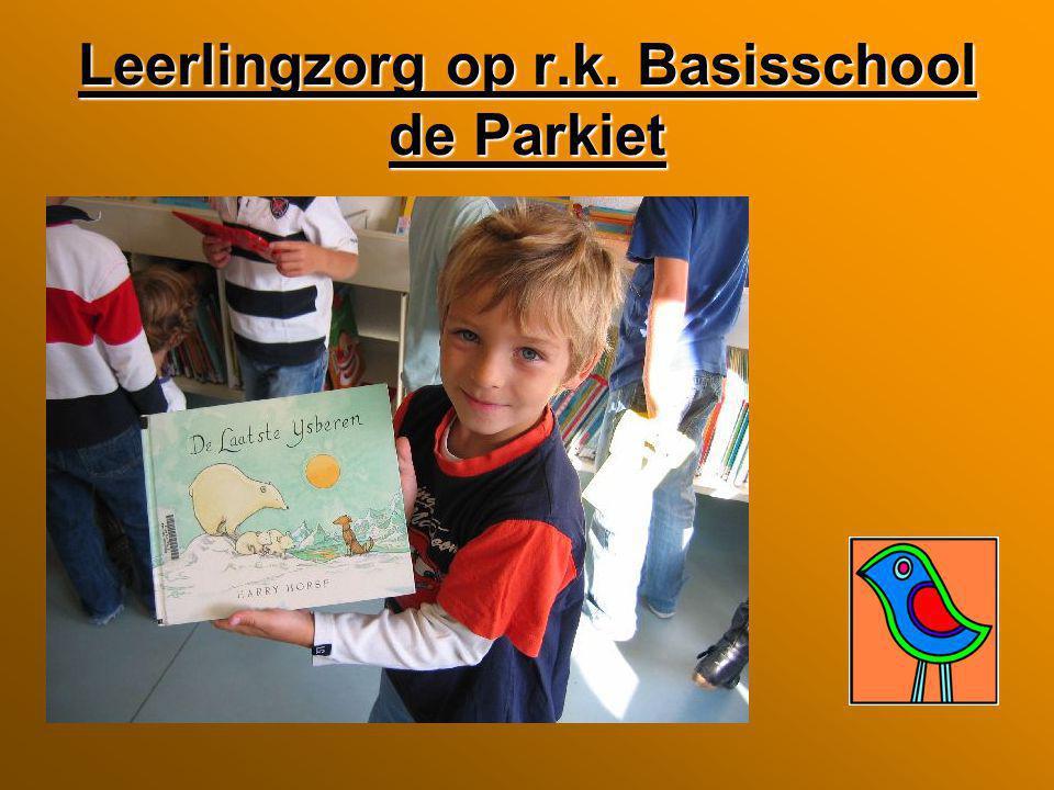 Leerlingzorg op r.k. Basisschool de Parkiet