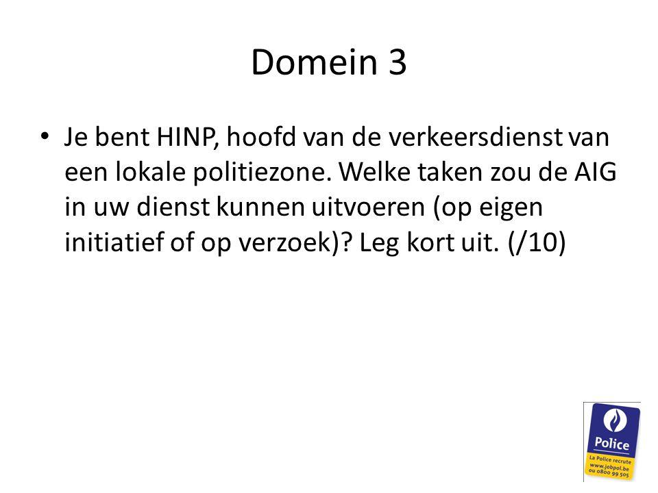Domein 3