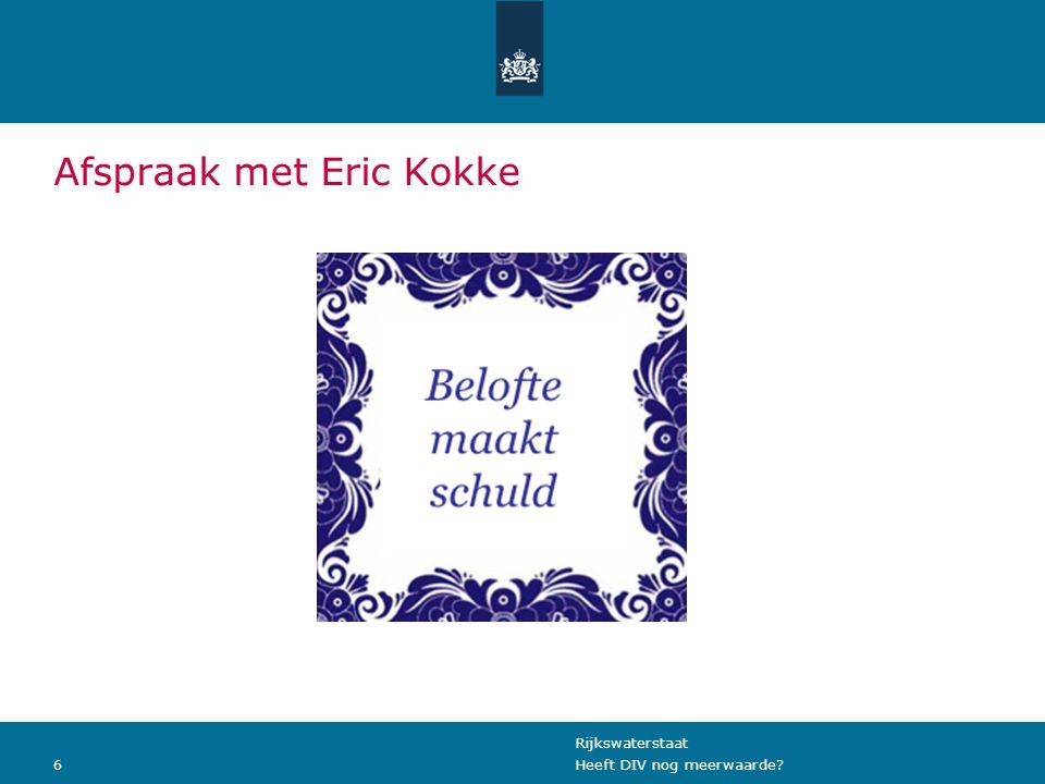 Afspraak met Eric Kokke