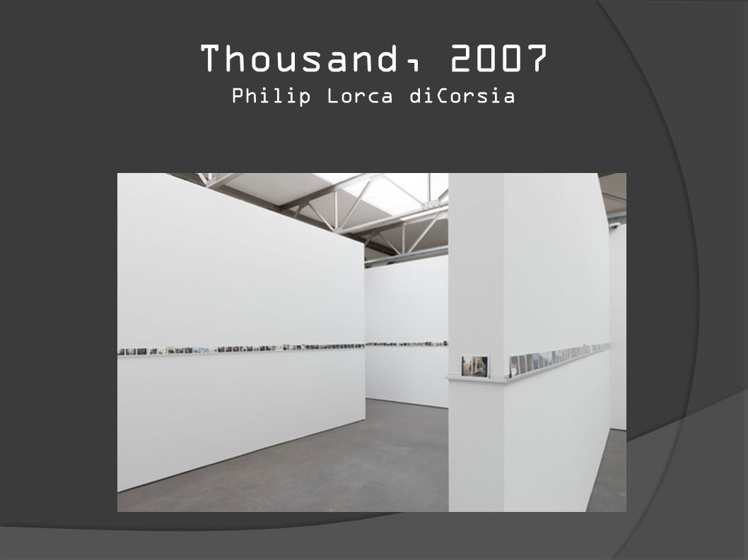 Thousand, 2007 Philip Lorca diCorsia