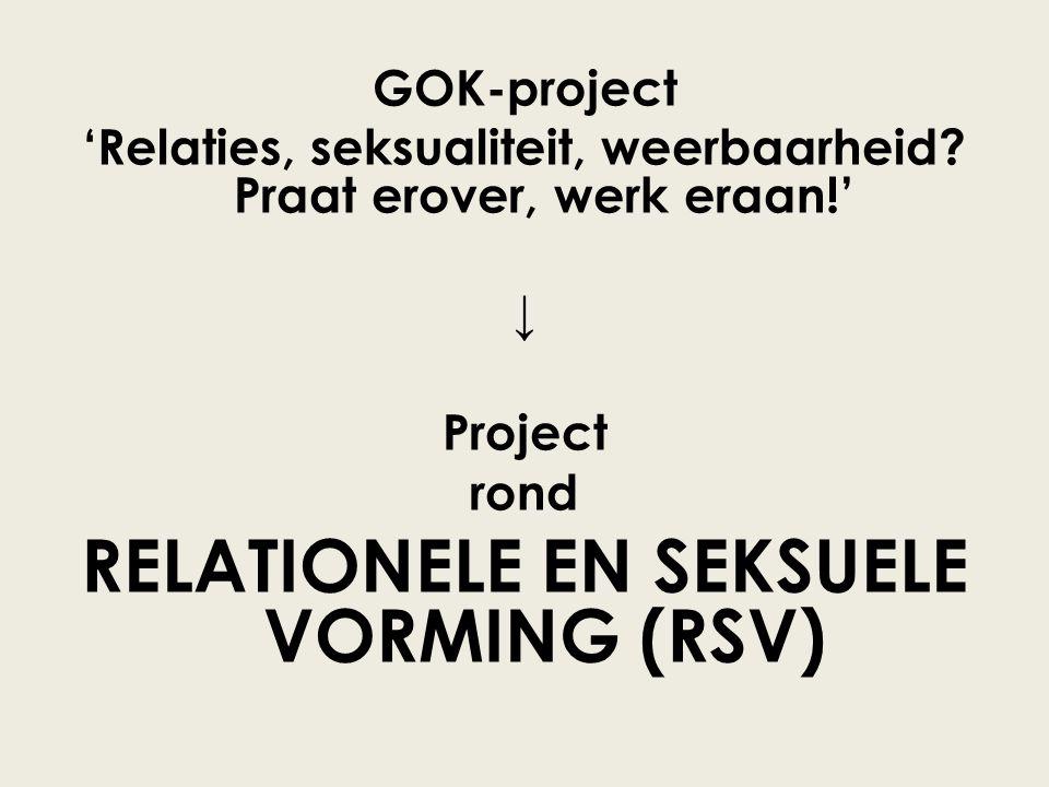 RELATIONELE EN SEKSUELE VORMING (RSV)
