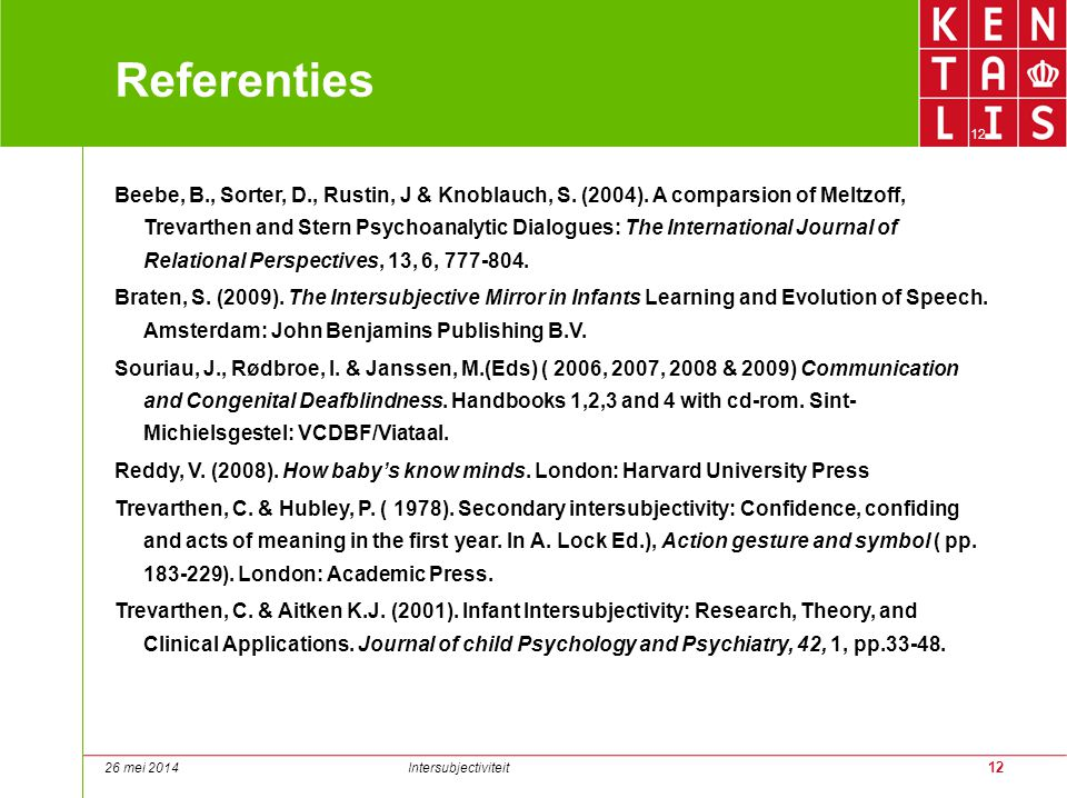 Referenties 12.