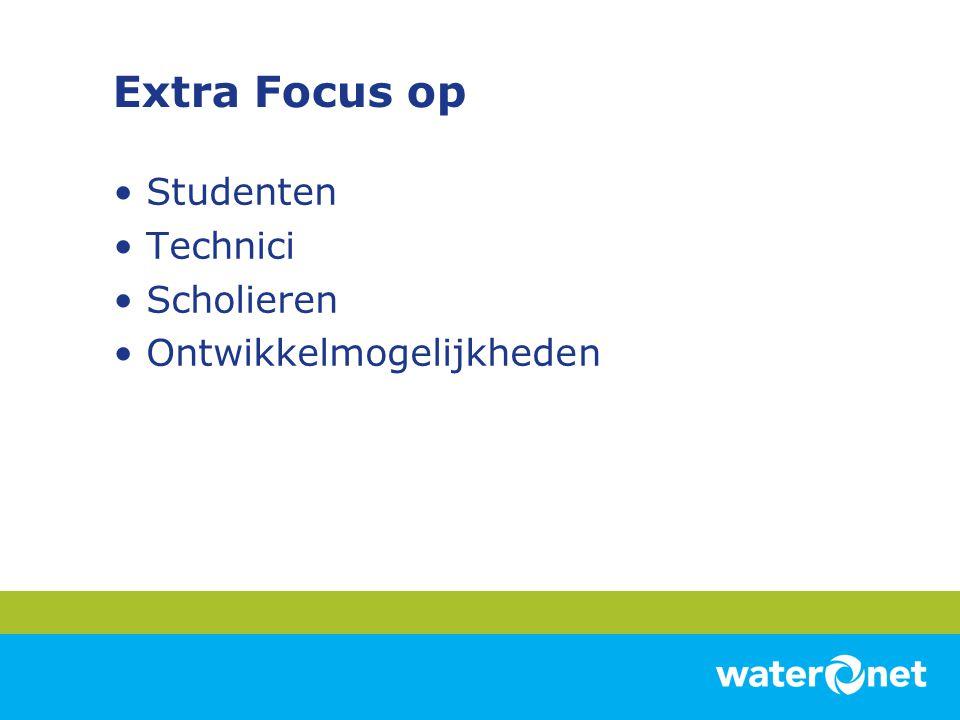 Extra Focus op Studenten Technici Scholieren Ontwikkelmogelijkheden
