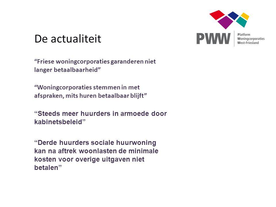 De actualiteit Friese woningcorporaties garanderen niet langer betaalbaarheid