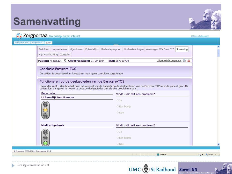 Samenvatting S1 en O1 kees@vermaatadvies.nl