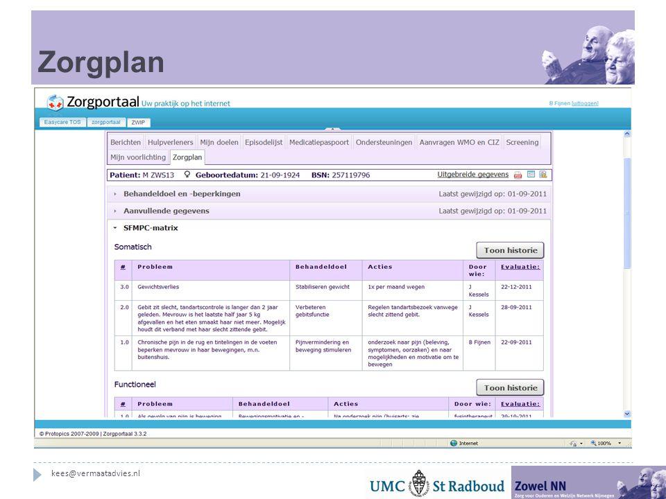 Zorgplan p2 kees@vermaatadvies.nl