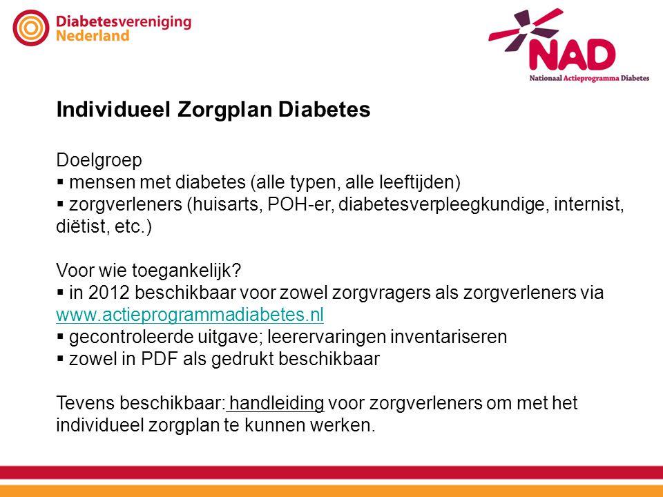 Individueel Zorgplan Diabetes