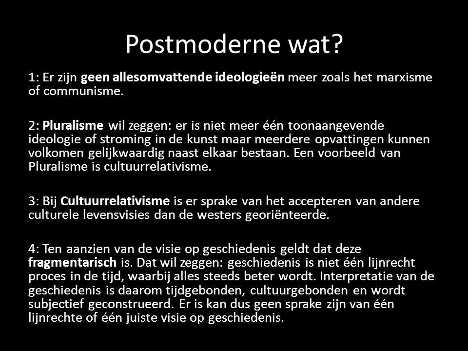 Postmoderne wat