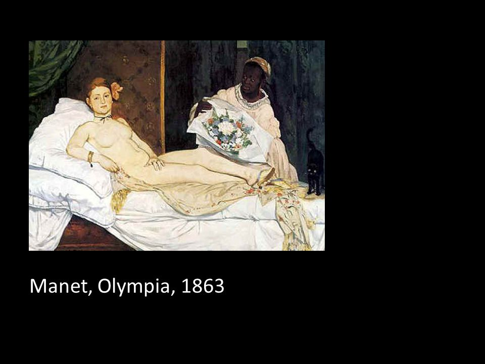 Manet, Olympia, 1863