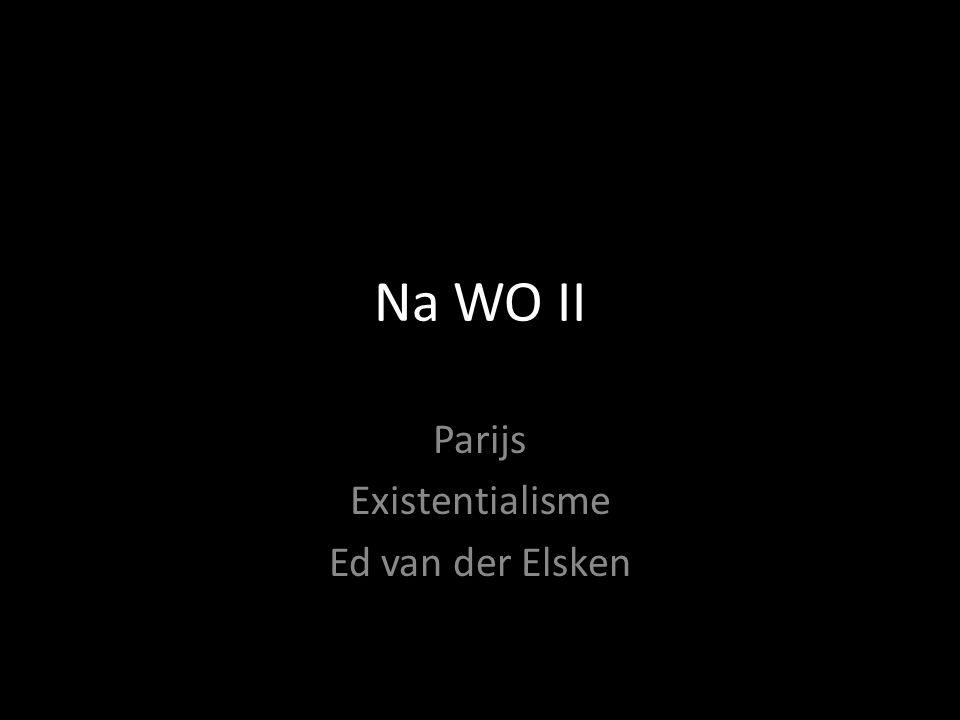 Parijs Existentialisme Ed van der Elsken