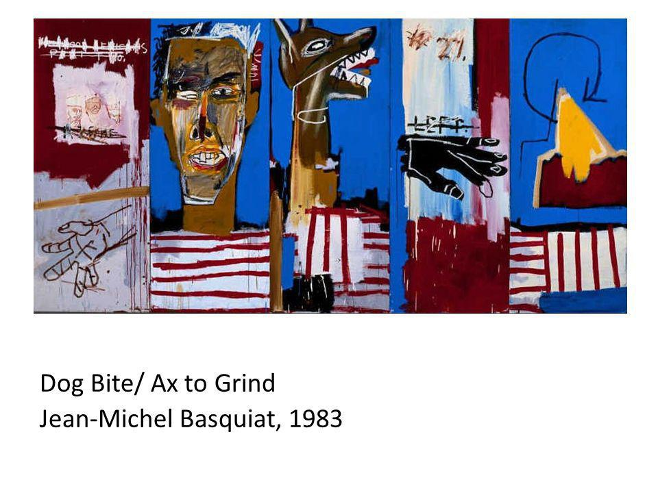 Dog Bite/ Ax to Grind Jean-Michel Basquiat, 1983