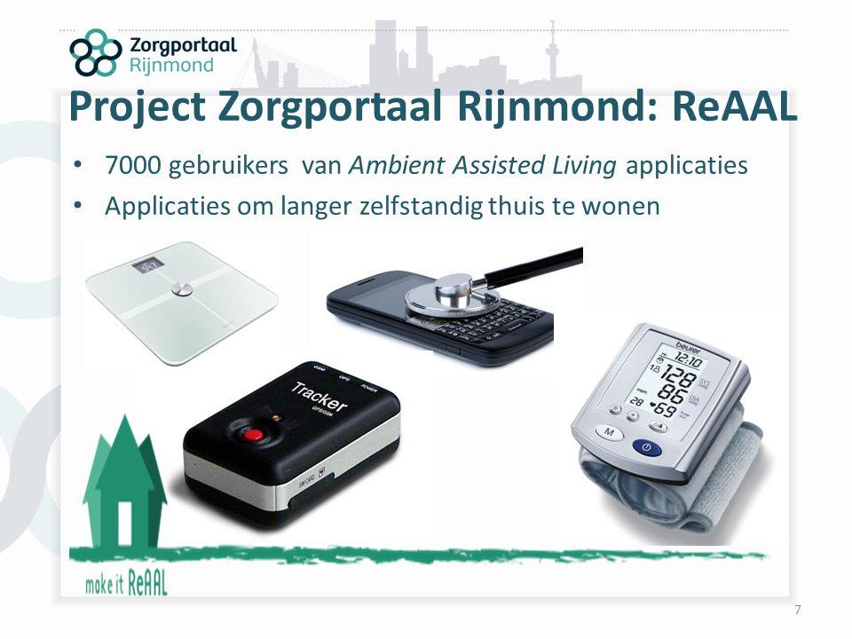 Project Zorgportaal Rijnmond: ReAAL