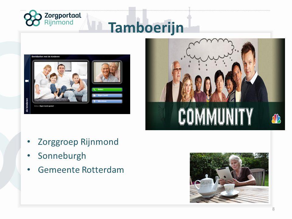 Tamboerijn Zorggroep Rijnmond Sonneburgh Gemeente Rotterdam