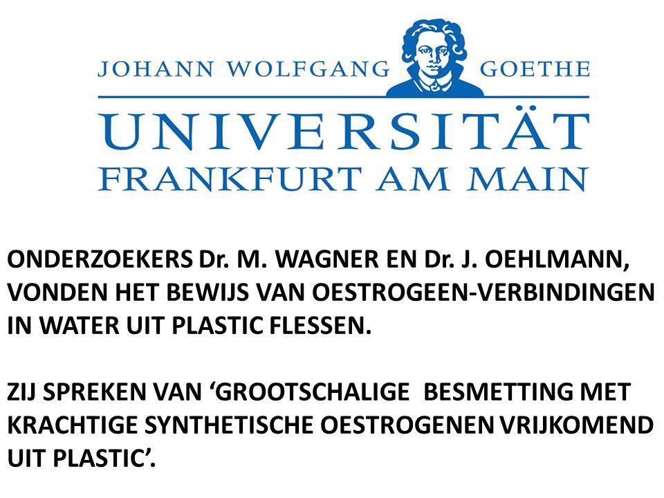 ONDERZOEKERS Dr. M. WAGNER EN Dr. J