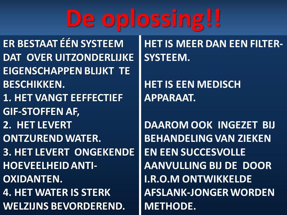 De oplossing!!