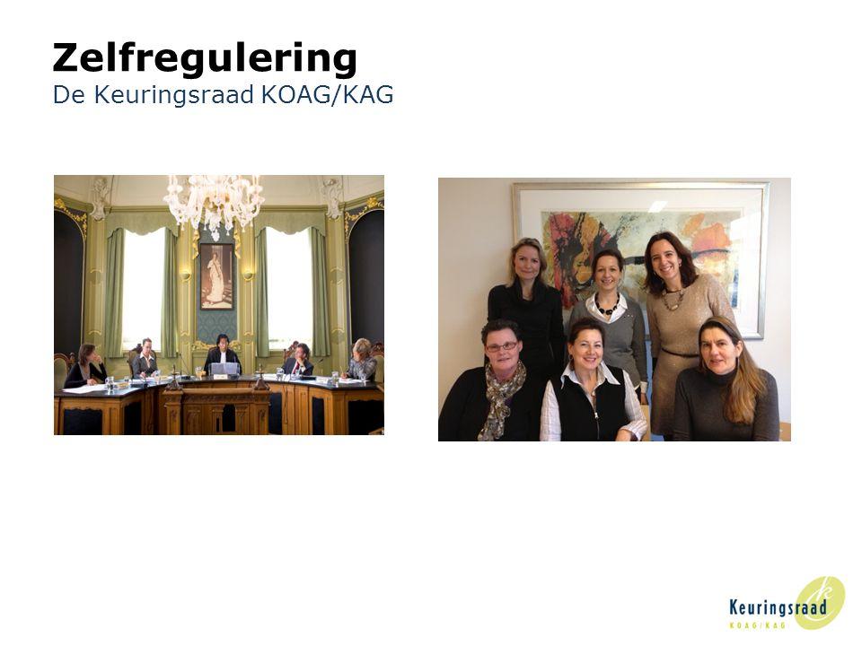 Zelfregulering De Keuringsraad KOAG/KAG