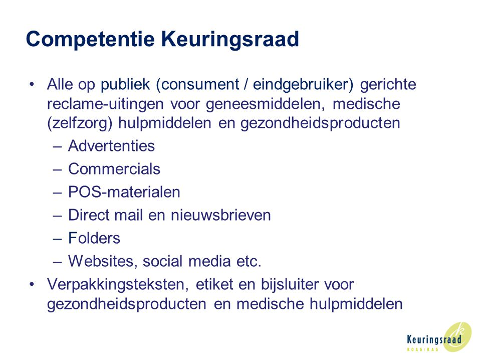 Competentie Keuringsraad