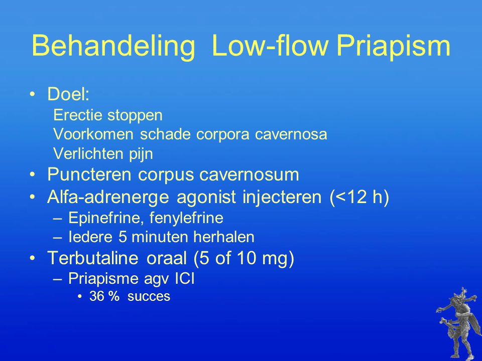 Behandeling Low-flow Priapism
