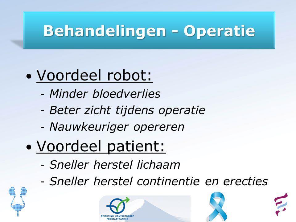 Behandelingen - Operatie