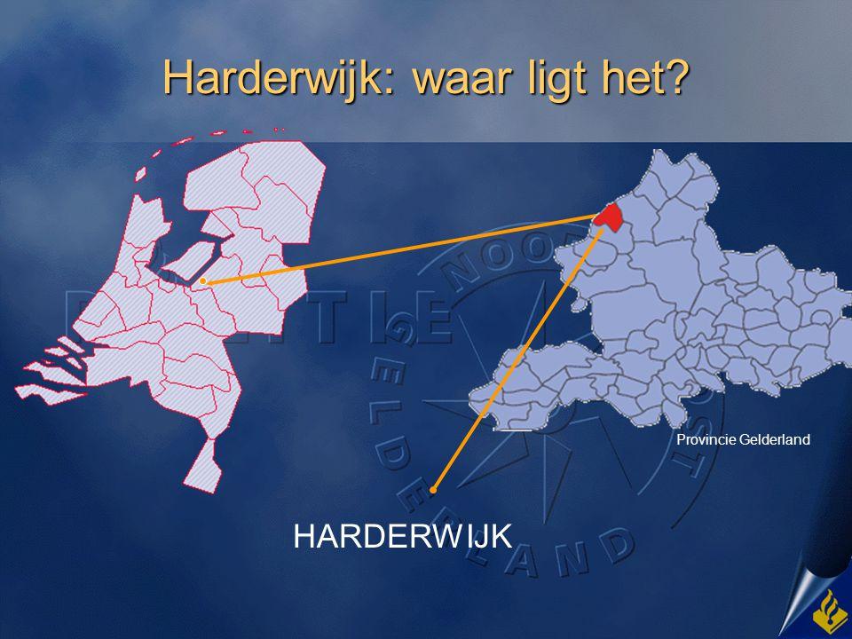 Harderwijk: waar ligt het
