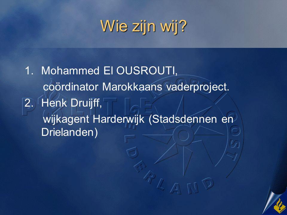 Wie zijn wij Mohammed El OUSROUTI,