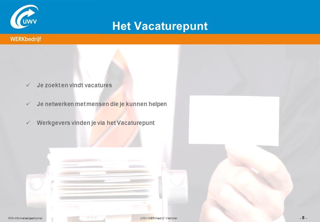UWV-WERKbedrijf Vliethorst