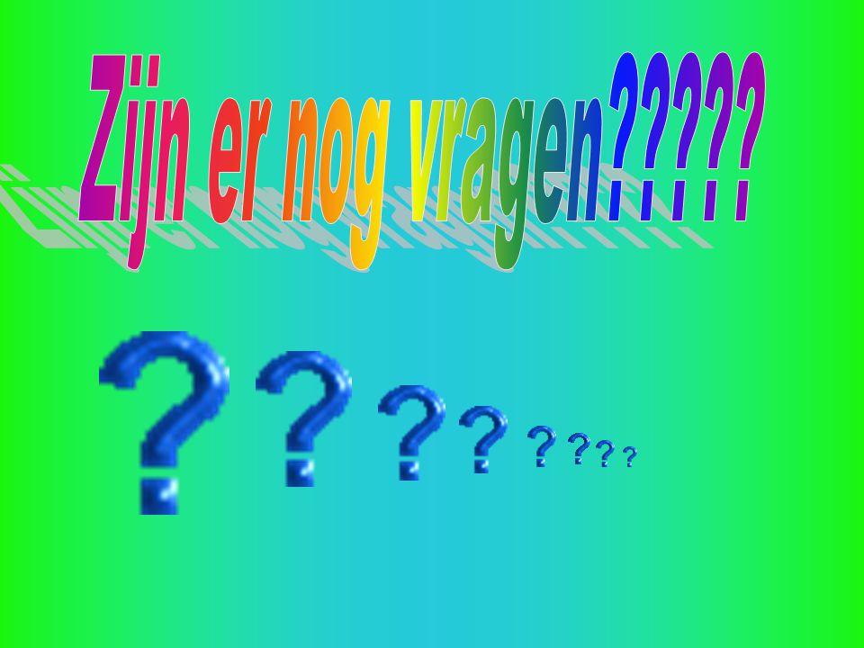 Zijn er nog vragen
