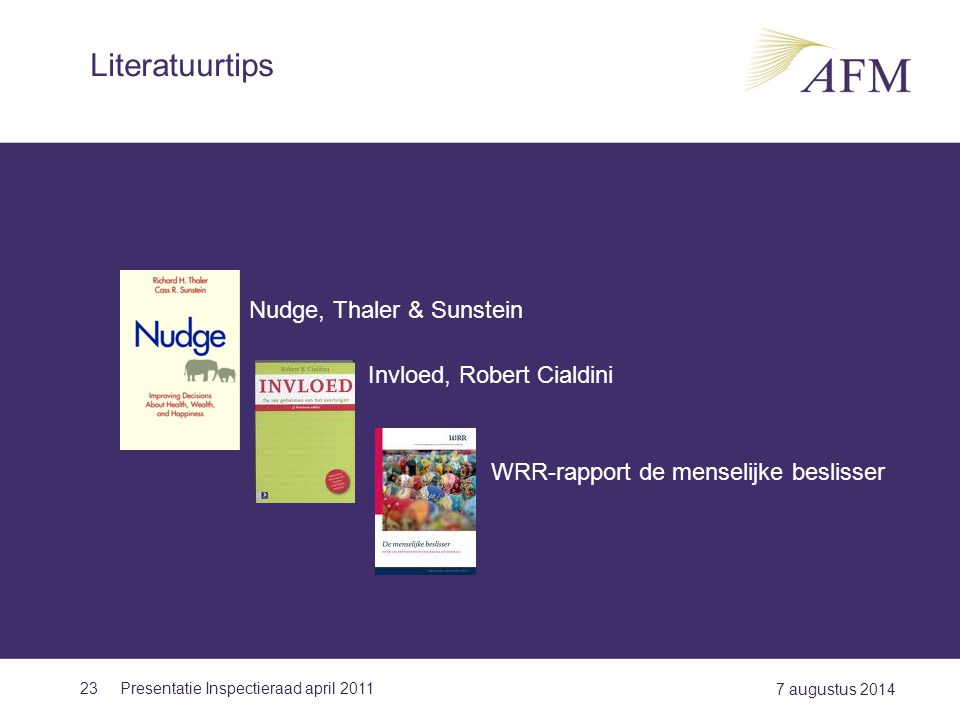Literatuurtips Nudge, Thaler & Sunstein Invloed, Robert Cialdini
