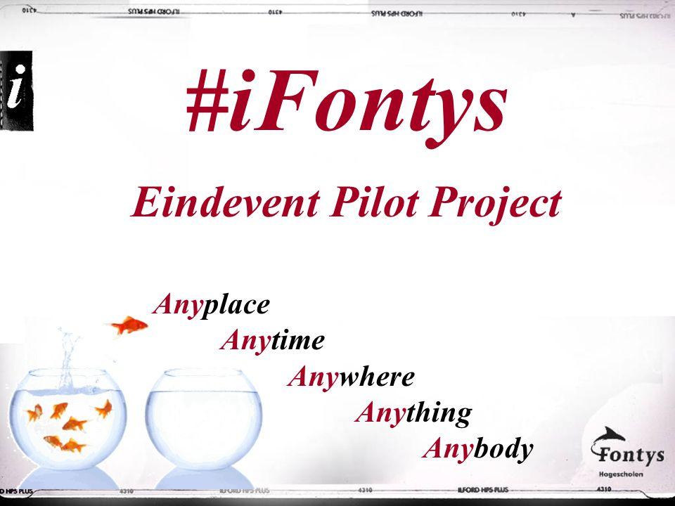 Eindevent Pilot Project