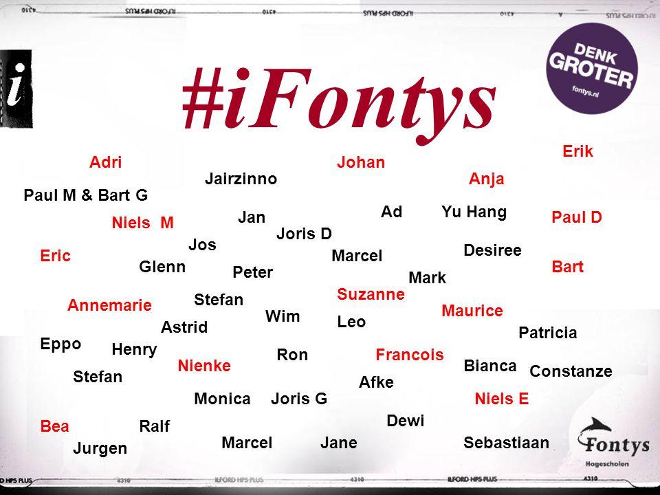 #iFontys Erik Adri Johan Jairzinno Anja Paul M & Bart G Ad Yu Hang Jan