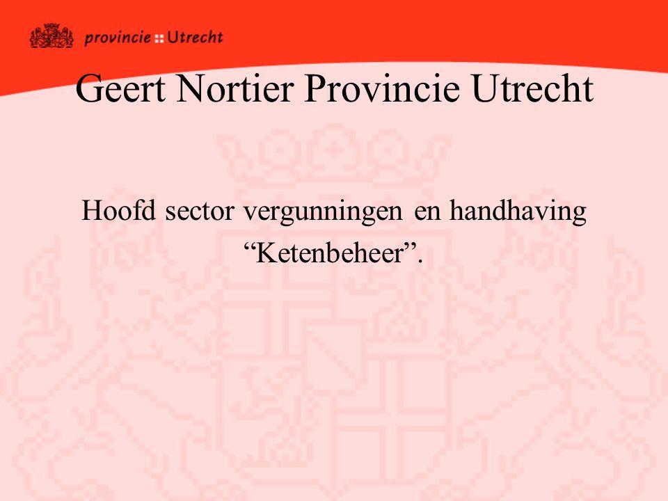 Geert Nortier Provincie Utrecht