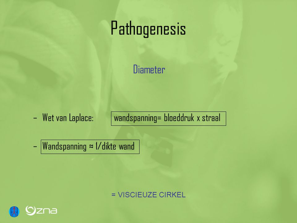 Pathogenesis Diameter