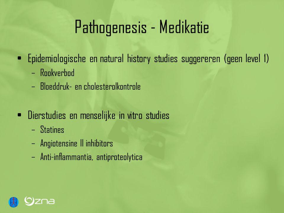 Pathogenesis - Medikatie