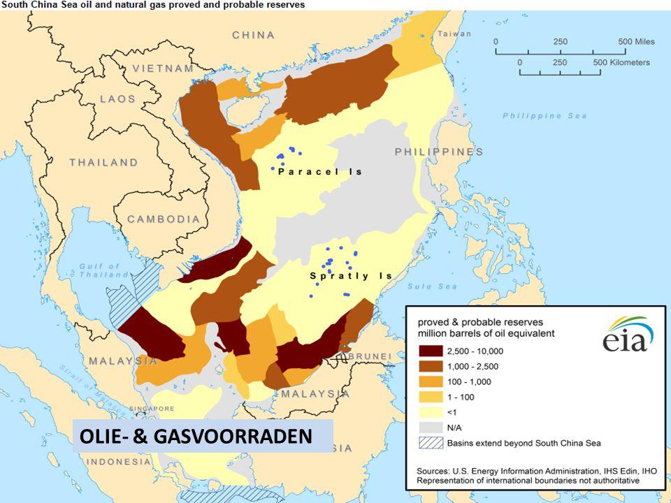 Schattingen over de mogelijke aanwezigheid van olie- en gasvoorraden op de bodem van de Zuid-Chinese Zee verschillen behoorlijk. De hoeveelheid bewezen reserves lijken behoorlijk tegen te vallen.