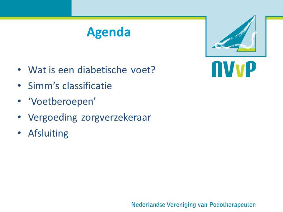 Agenda Wat is een diabetische voet Simm's classificatie