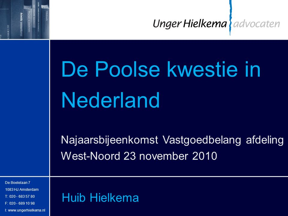 De Poolse kwestie in Nederland