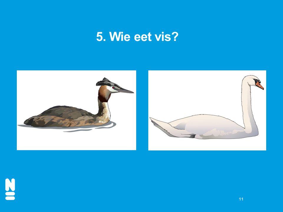 5. Wie eet vis