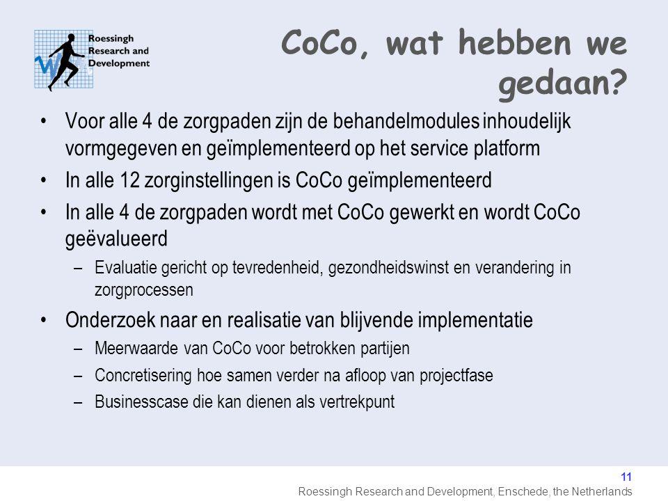 CoCo, wat hebben we gedaan