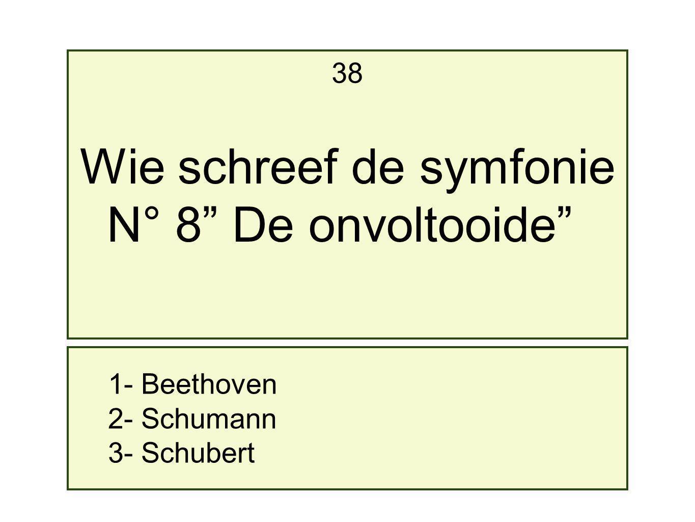 Wie schreef de symfonie