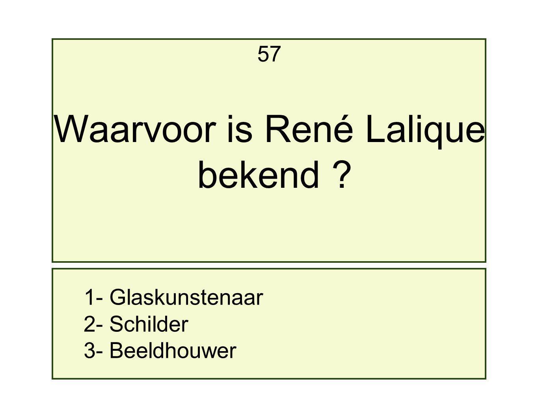 Waarvoor is René Lalique