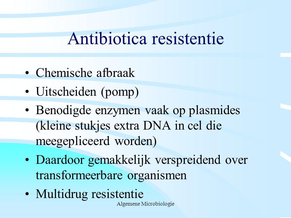 Antibiotica resistentie
