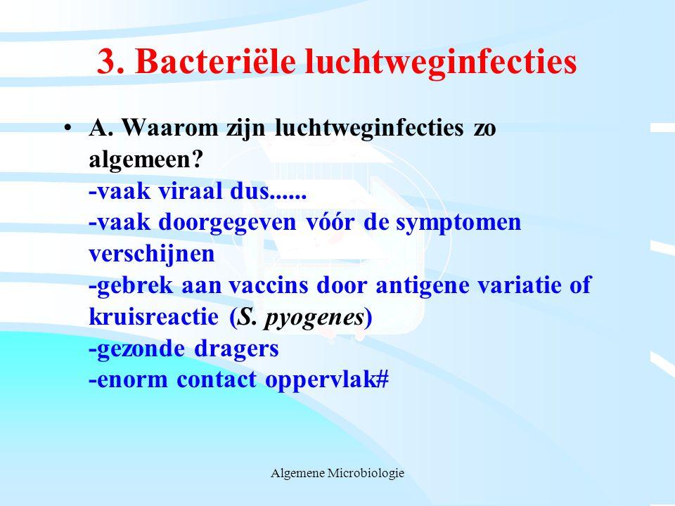 3. Bacteriële luchtweginfecties