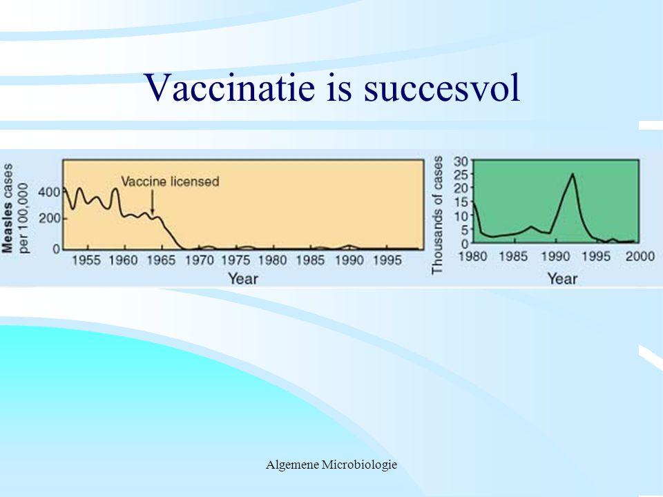 Vaccinatie is succesvol