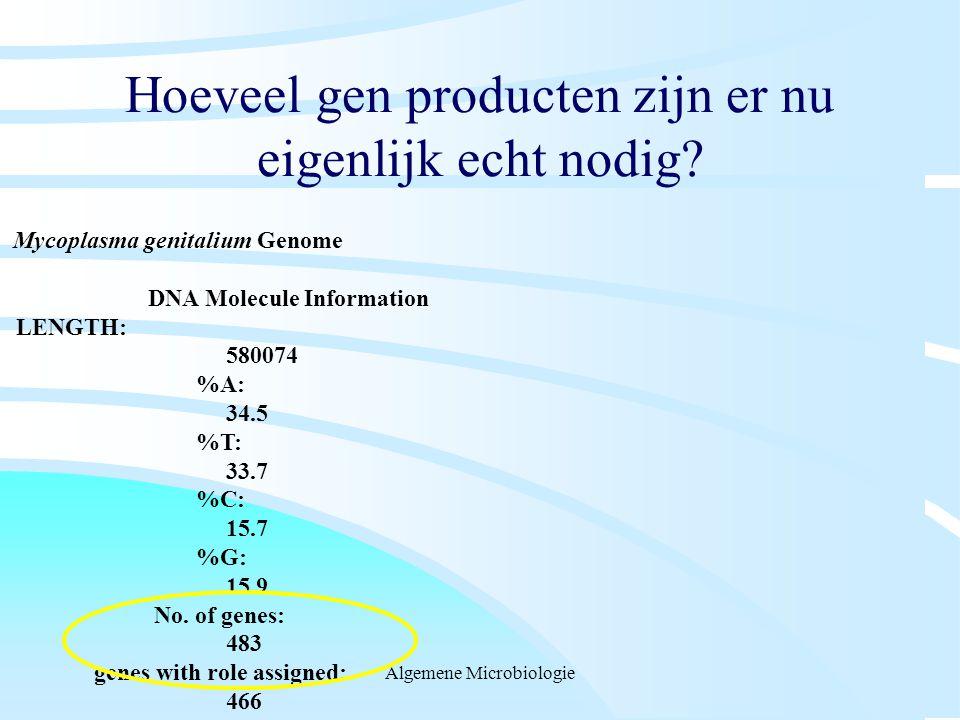 Hoeveel gen producten zijn er nu eigenlijk echt nodig