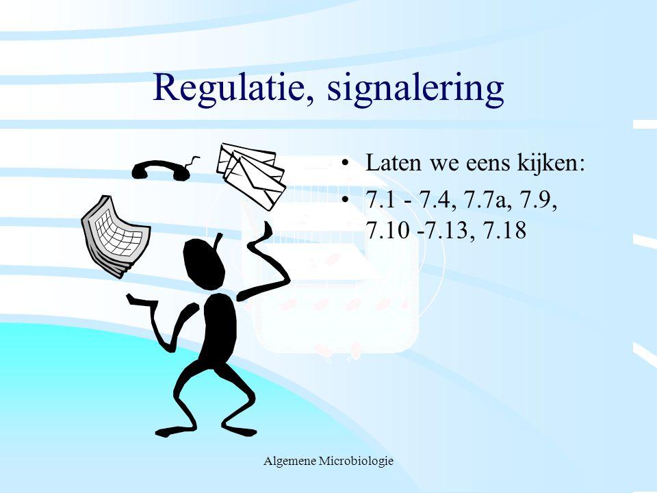 Regulatie, signalering