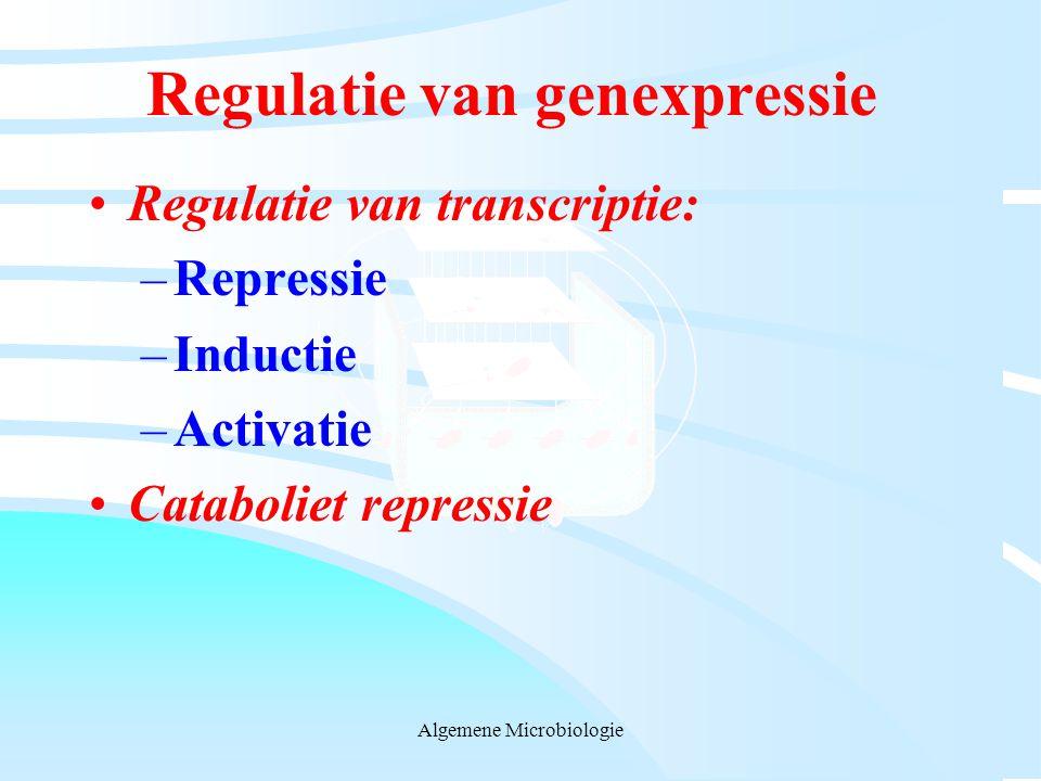 Regulatie van genexpressie
