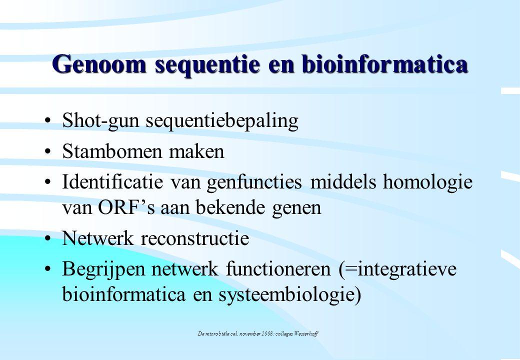 Genoom sequentie en bioinformatica