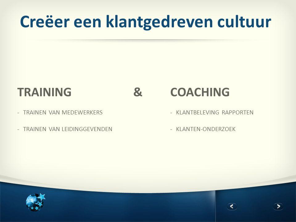 Creëer een klantgedreven cultuur