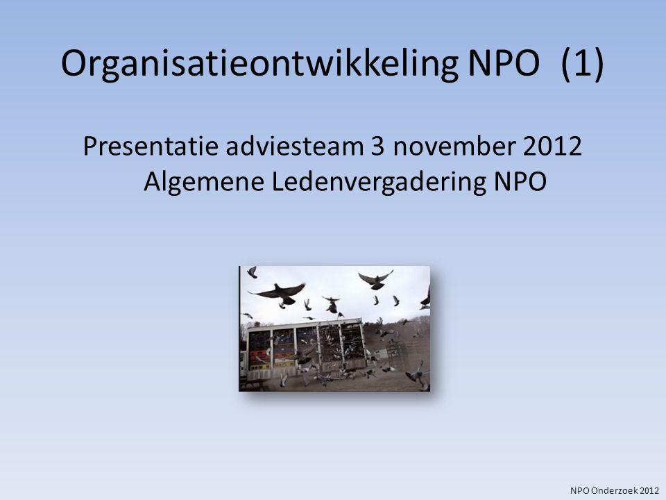 Organisatieontwikkeling NPO (1)
